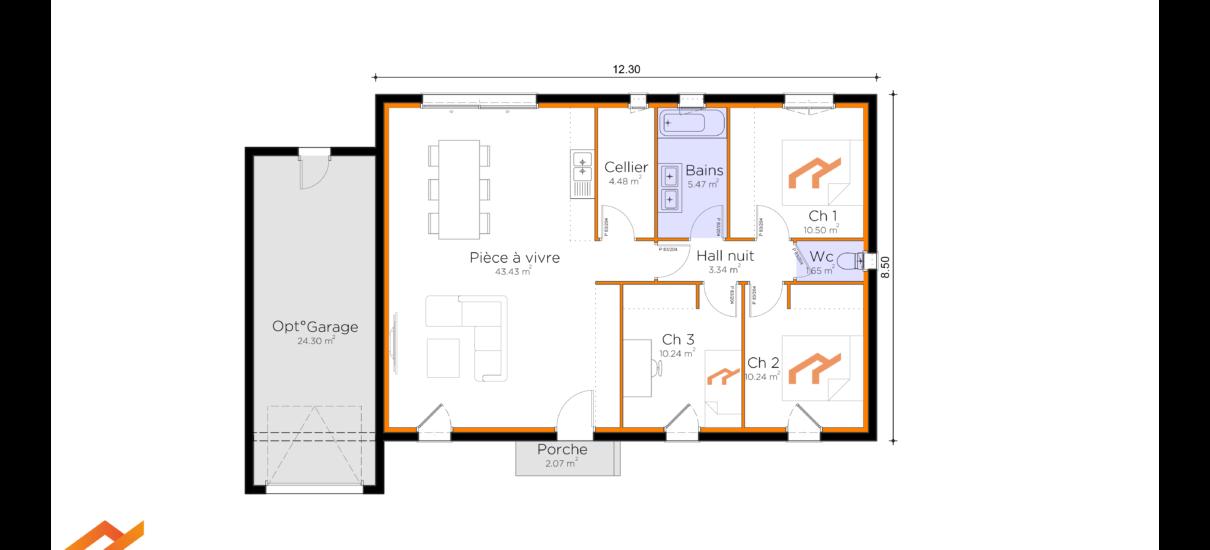 plan maison design
