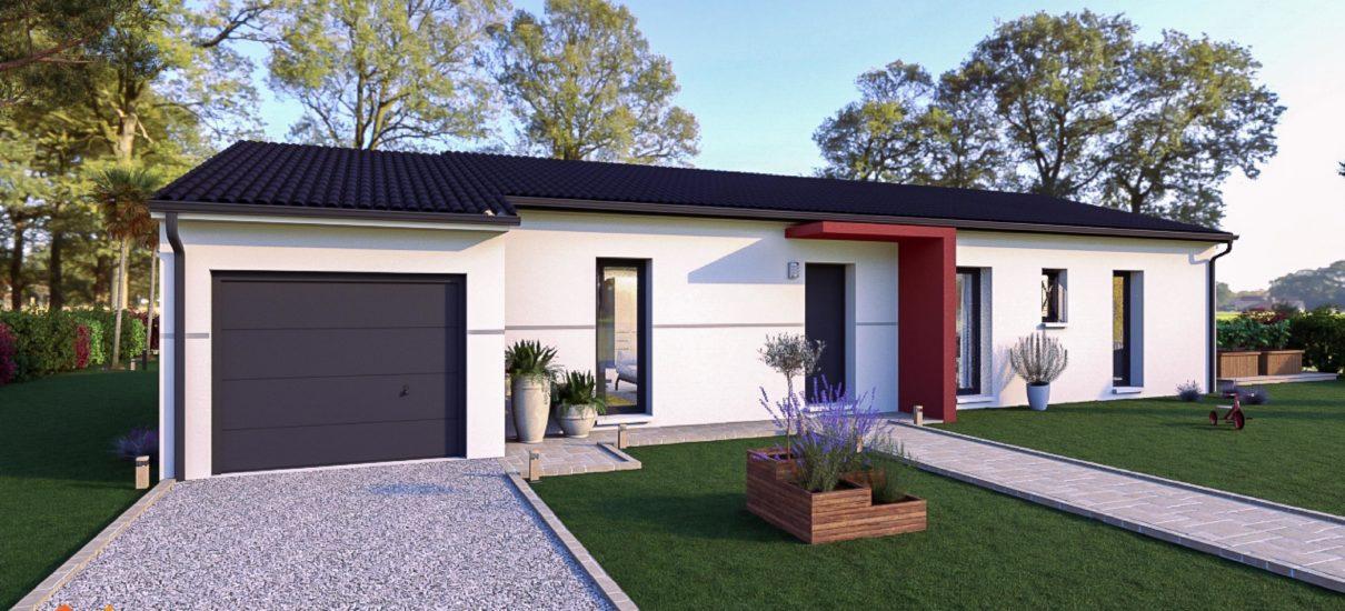 maison avec porche design