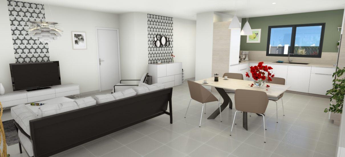 intérieur design maison contemporaine