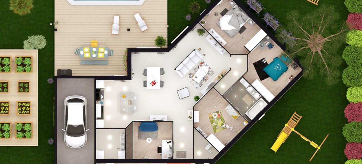 maison 2D