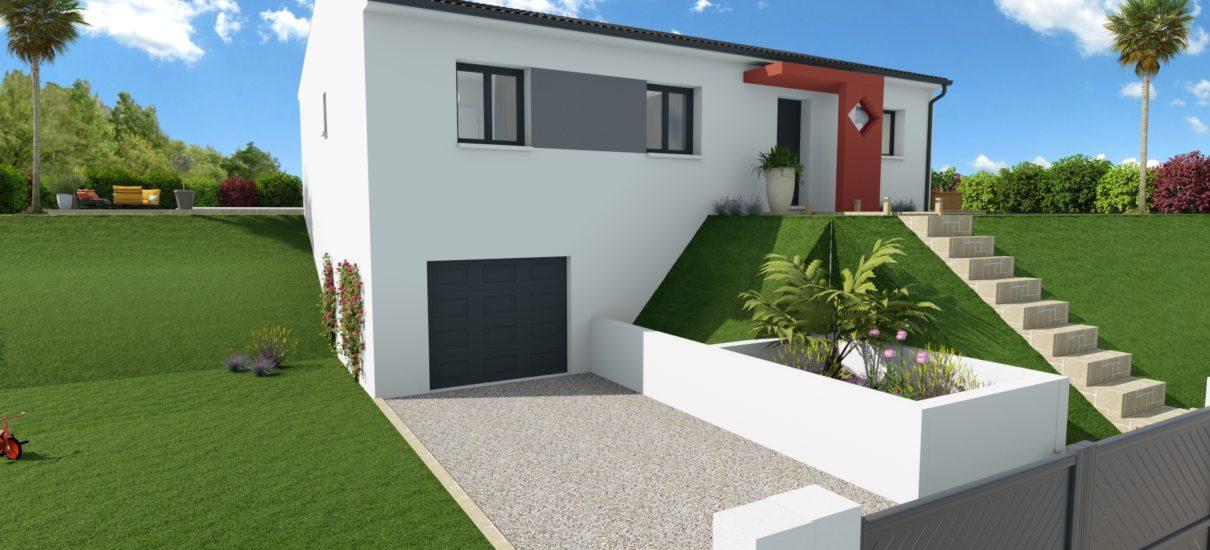 maison moderne sous-sol