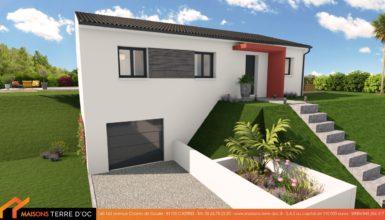 maison avec sous sol design