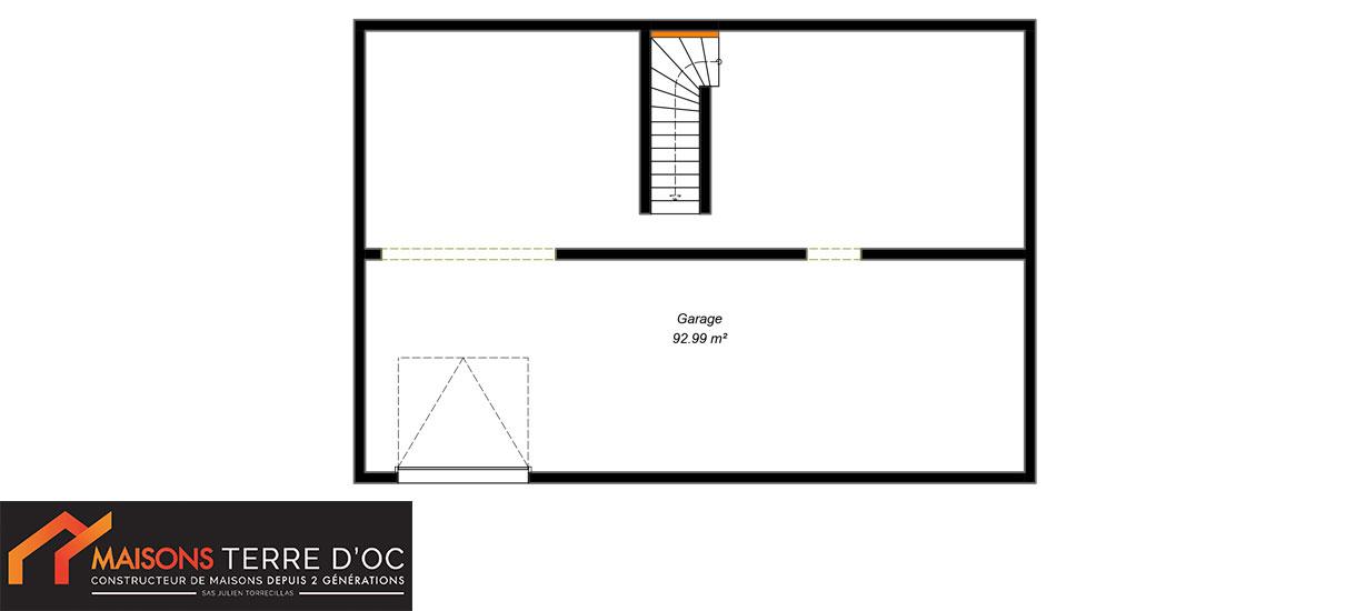 plan sous-sol maison design
