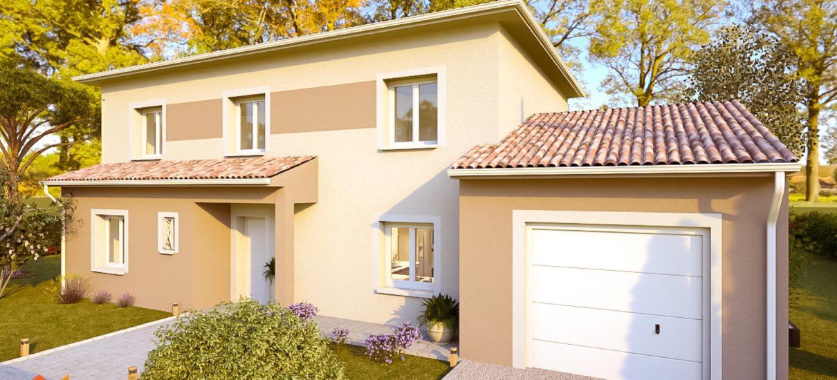 maison étage occitane
