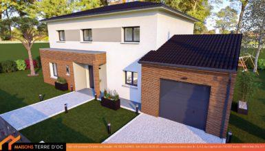 maison à étage design