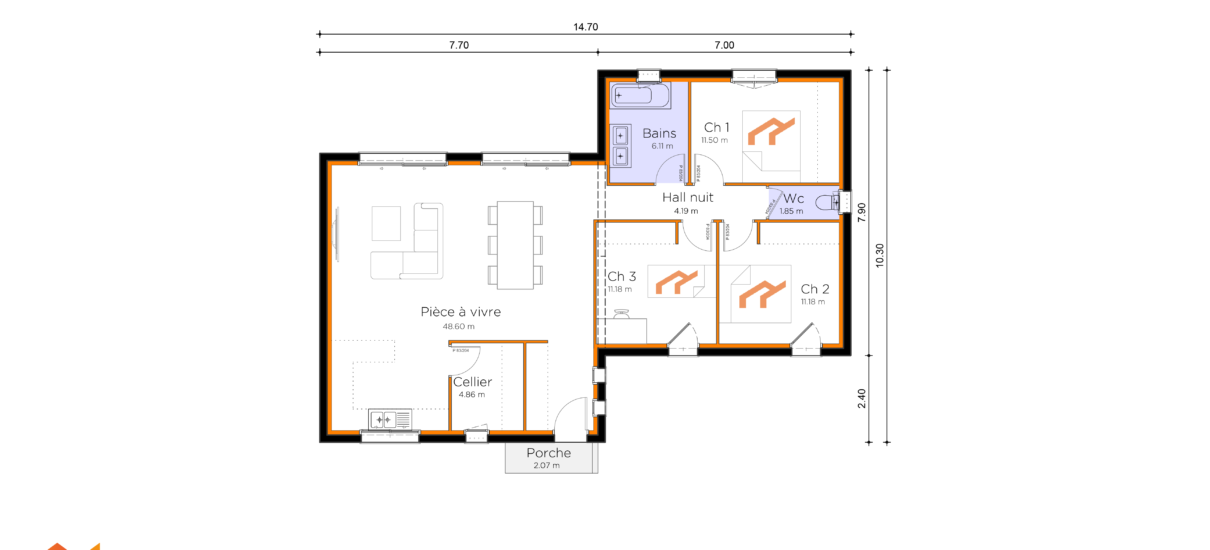 plan de villa design